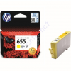 HP 655 yellow CZ112AE festékpatron - eredeti Deskjet Ink Advantage 3520, 3525, 4610, 4615, 4620, 4625,