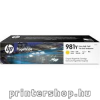 HP 981Y extra e eti PageWide  L0R15A