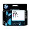 HP C4901AE Tintapatron fej OfficeJet Pro 8000, 8500 nyomtatókhoz, HP 940  vörös, kék (TJHC4901A)