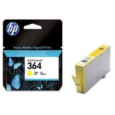 HP CB320EE Tintapatron Photosmart C5380, C6380, D5460 nyomtatókhoz, HP 364 sárga, 300 oldal nyomtatópatron & toner