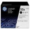 HP CE255XD Lézertoner LaserJet P3015 nyomtatóhoz, HP fekete, 2*12,5k