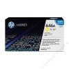 HP CF032A Lézertoner ColorLaserJet Pro CM4540 nyomtatóhoz, HP 646A sárga, 12,5k (TOHPCF032A)