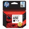 HP CZ101E Tintapatron Deskjet Ink Advantage 2510 sor nyomtatókhoz, HP 650 fekete, 360 oldal