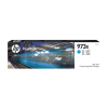 HP F6T81AE Tintapatron, PageWide Pro 452, 477, Managed P57750, P55250 nyomtatókhoz, HP 973X, cián, 7k