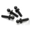 HPI Gömbfejű csavar 4,3x20mm (4-40/fekete/4db)