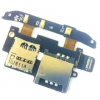 HTC Desire S sim és memóriakártya olvasós átvezető fólia mikrofonnal*