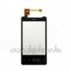 HTC Touch HD mini érintőpanel, érintőképernyő fekete