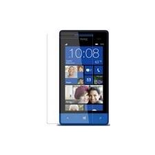 HTC Windows Phone 8S kijelző védőfólia törlőkendővel* mobiltelefon előlap