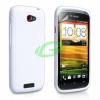 HTC Z520e One S fehér szilikon tok