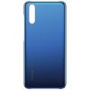 Huawei ETUI P20; plecki plastikowe; Błękitny