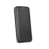 Huawei Forcell Elegance Huawei Y6 (2018) oldalra nyíló mágneses könyv tok szilikon belsővel fekete