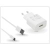 Huawei gyári USB hálózati töltő adapter + Type-C adatkábel - 5V/2A és 9V/2A - Quick Charge AP32 HW-059200EHQ + AP51 white (ECO csomagolás)