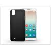 Huawei/Honor 7i/Shot X szilikon hátlap - Jelly Bright 0,3 mm - fekete