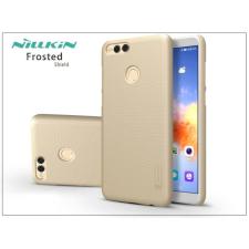 Huawei/Honor 7X hátlap képernyővédő fóliával - Nillkin Frosted Shield - gold tok és táska