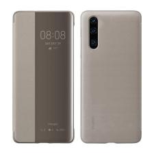 Huawei intelligens View Flipes tok telefontok típusú tok telefontok hátlap Smart Window Huawei P30 barna (51992864) tok és táska