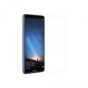 Huawei Mate 10 Lite, Kijelzővédő fólia, ütésálló fólia (az íves részre NEM hajlik rá!), Tempered Glass (edzett üveg), Clear