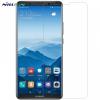 Huawei Mate 10 Pro, Kijelzővédő fólia, ütésálló fólia (az íves részre NEM hajlik rá!), Nillkin, Tempered Glass (edzett üveg), Clear