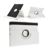 Huawei Mediapad M3 Lite 8.0, mappa tok, elforgatható (360°), fehér