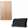 Huawei Mediapad T3 8.0, mappa tok, Trifold, selyem hatású, arany
