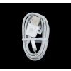 Huawei microUSB adatkábel, fehér, gyári, csomagolás nélkül
