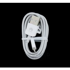 Huawei microUSB adatkábel, fehér, gyári, csomagolás nélkül kábel és adapter