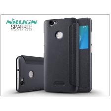 Huawei Nova oldalra nyíló flipes tok - Nillkin Sparkle - fekete tok és táska