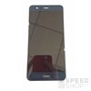 Huawei P10 Lite kompatibilis LCD modul kerettel, OEM jellegű, kék