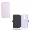 Huawei P10, Oldalra nyíló tok, CoverGel, fehér
