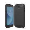 Huawei P20 Lite Carbon vékony szilikon tok fekete
