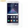 Huawei P8 Lite (2017) / P9 Lite (2017), Kijelzővédő fólia, ütésálló fólia (az íves részre NEM hajlik rá!), Tempered Glass (edzett üveg), Enkay, Clear