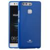 Huawei P9 Plus, TPU szilikon tok, Mercury Goospery, csillámporos, kék