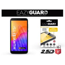 Huawei Y5p gyémántüveg képernyővédő fólia - Diamond Glass 2.5D Fullcover - fekete mobiltelefon kellék