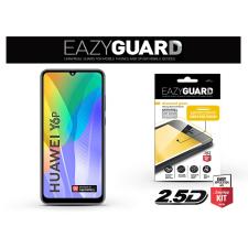Huawei Y6p/Honor 9A gyémántüveg képernyővédő fólia - Diamond Glass 2.5D Fullcover - fekete mobiltelefon kellék