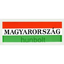 Hunbolt Nemzeti színű Magyarország felirattal matrica 9x2,5 cm tapéta, díszléc és más dekoráció