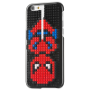 Hurtel Building Blocks iPhone 7/8 Super Hero kirakható hátlap, tok, fekete-piros