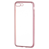 Hurtel Metalic Slim iPhone 7 Plus/8 Plus hátlap, tok, rose gold