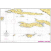 Hvar - Lastovo hajózási térkép - Naval-Adria 100-25