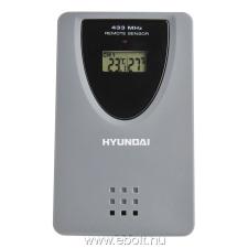 Hyundai WS Senzor 77 TH szenzor időjárás állomáshoz, szürke időjárásjelző