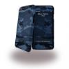i-Paint iPhone 6/6S farmer mintás hátlap, tok, kék