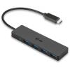 I-TEC USB-C Slim passive HUB 4 port without power adapter