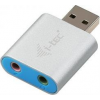 I-TEC USB Metal Mini Audio USB hangkártya adapter (U2AMETAL)