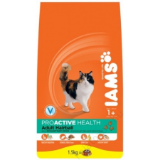 IAMS Cat Adult Hairball Chicken 2,55Kg macskaeledel