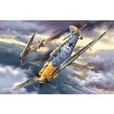 ICM Messerschmitt Bf 109E-3 katonai repülő makett ICM 72131 makett figura