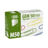ICO 50mm színes gemkapocs (100 db/doboz)