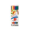 ICO Színes ceruza készlet, hatszögletű, hajlékony, IC