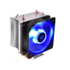 ID-Cooling CPU Cooler - SE-913-B (23,8dB; max. 65,41 m3/h; 3pin csatlakozó, 3 db heatpipe, 9cm, LED)
