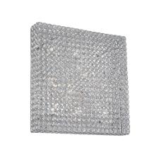 IDEAL LUX 80291 - Kristály mennyezeti lámpa ADMIRAL 10xG9/28W/230V világítás