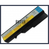 IdeaPad V570G 4400 mAh 6 cella fekete notebook/laptop akku/akkumulátor utángyártott