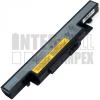 IdeaPad Y500 Series 4400 mAh 6 cella fekete notebook/laptop akku/akkumulátor utángyártott