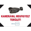 IdentiVision ICA-FMA4/F, kamerás figyelmezteto MATRICA, A4, fekvo